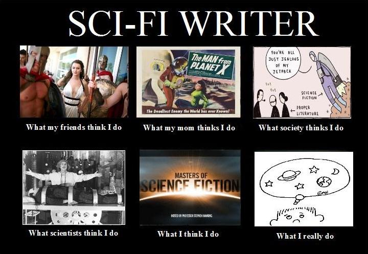 Science fiction writers reddit